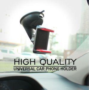 Soporte universal para teléfono para automóvil Soporte para teléfono móvil Soporte para parabrisas Soporte para teléfono móvil Soporte para teléfono inteligente Soporte para coche (al por menor)