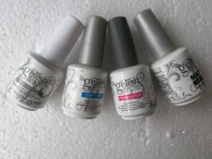gel Top polonais de qualité Harmony Gelish ongles LED UV art hors tension et TOP Fondation ongles frence Couche de finition Couche de base de set