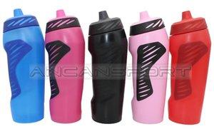 700ml Squeeze sports bottles water bottles football basketball kettle outdoor fitness bike mountaineering running swimming