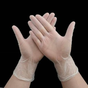 Завод прямые одноразовые прозрачные перчатки 100 порошок бесплатно татуировки бытовая чистка волос охрана труда ПВХ перчатки