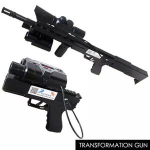 600ft Laser Tag, Dönüşüm Assault Rifle, Profesyonel Düzenlenebilir Savaş Silah, Göz Emniyet Lazer Savaş Sistemi, Tabanca Oyuncak Tabanca