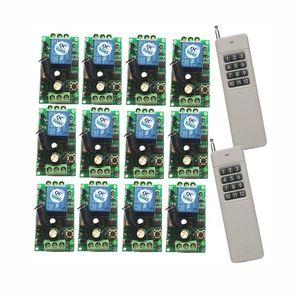 12В 10A 3000M РФ беспроводной пульт дистанционного управления системой переключатель 1 передатчик-приемник +12 В каждый независимо представляет собой СН