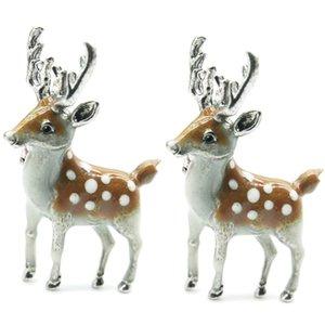 Cartoon Carino spilla gioiello popolare dello smalto Elk cervi di Sika Spilla Abbigliamento zaino Femmina dei monili Spilla all'ingrosso