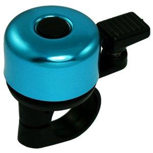 Good Deal Nero Plastic Bike morsetto del manubrio blu Round Top Bell della bicicletta Anello bici Corni