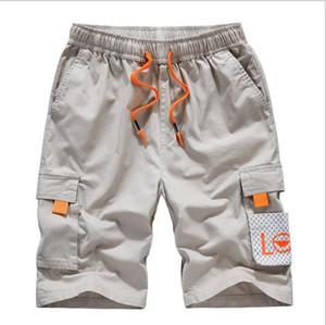 Mens 2020 Designer de Luxo calças curtas Verão Moda Joelho comprimento das calças Plus Size calças cargo Vestuário Masculino