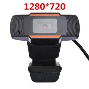 HD Webcam Web Camera 30fps 480P / 720P / 1080P PC Camera Built-in som de absorção de microfone USB 2.0 Video Record Para PC Portátil rápido DHL
