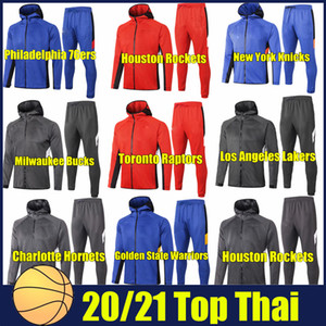 2020 Clubs de basketball Sweatshirt Sweatshirt Vêtements Basketball Association Hommes Sporting TrackSuit Exploitation Hoodie Fashion Sports Costume