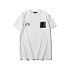 T-shirts masculinas de verão 2020 slim sob a tendência de roupas de algodão em uma única cor com meia mangas