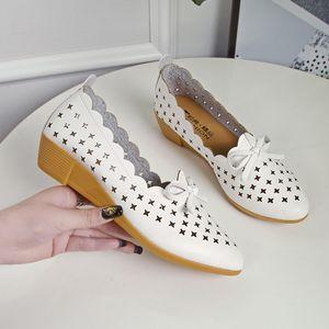 Lucky2019 Сандалии из полой плоской ткани Reverent Will Soft Bottom Doug Shoes Нескользящая женская обувь 41 Код