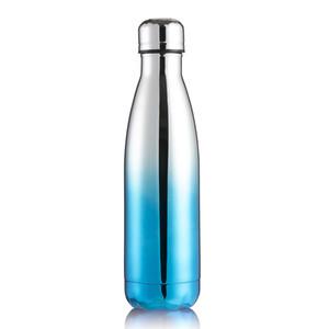 Высокого качество гальванического Металл бутылка воды Четыре цвета Vacuum двустенная из нержавеющей стали бутылка воды Дружественного BPA Free
