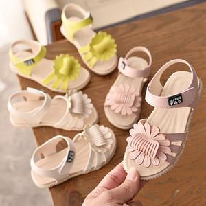 Mädchen-Sommer-Strand-Sandelholz-Wölbungs-Bügel Sandelholz-Mädchen-Blumen-Dekoration Einzelne Schuhe Kinder Performance-Schuh 07