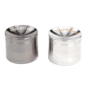 Sharpstone 4 Layers Smoking Herb Grinders Tobacco Cigarette Grinders Fumar Hierba Smoke Grinders Dia.63mm 50mm