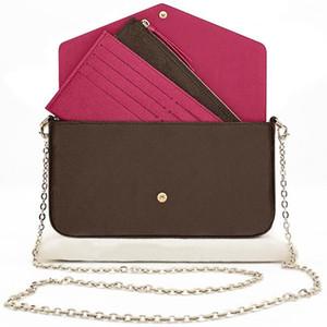 원래 상자 여성 클래식 지퍼 지갑 지갑 여성 긴 지갑 여러 가지 빛깔의 디자이너 동전 지갑 카드 홀더