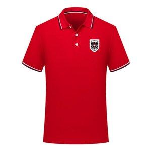 2020 Austria national team mens Soccer polo shirt Sport Polo football polos summer Soccer Short Sleeve POLOs T-Shirt Jerseys Men's Polos