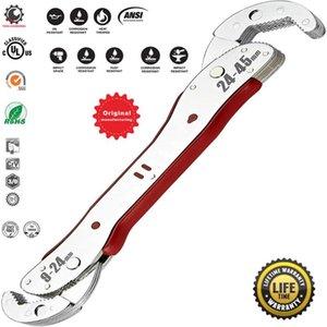 Evrensel Sihirli anahtarıyla 9-45mm Ayarlanabilir Çok fonksiyonlu Spanner Araçları Evrensel Anahtarı Seti Boru Ana El Aracı Tesisatçılar Onarım