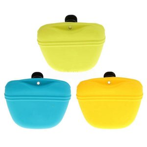 Pets Dog Silicone Treat Bag Pocket Food Snack Pouch Haversack Waist Bag for Outdoor Pet Training Bags