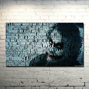 Темный рыцарь: Возрождение легенды - джокер Movie Game Art Silk Fabric Poster Print 13x24 24x43 дюймов для Братц картинки 022