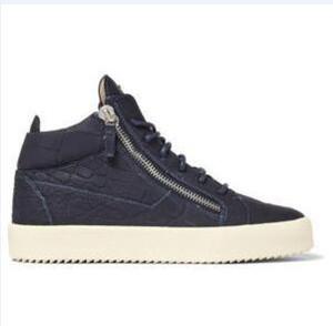 Giuseppe Zanotti GZ de sapatos mulheres homens treinador Designer Homme Chaussures sapatos Arena Raça Runner Retro Desportos Formadores Sneakers tamanho grande hococal