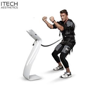Spor kulübü Spor Salonu için EMS eğitim spor Makine Giyim Yelek ceket kablosuz BodyTech Makinesi için Xbody EMS Eğitim takım elbise