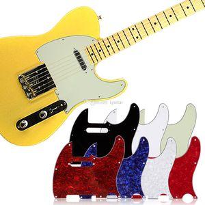 1 Установить накладку 7 шт для Tuff собак Tele Телепередача Стандартных электрической гитары несколько цветов 3ply Aged Pearloid накладка