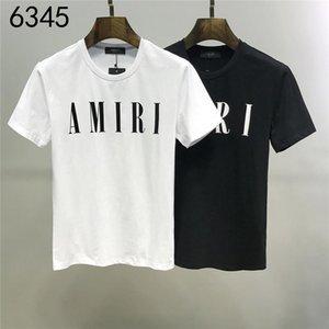 As mangas curtas da moda da nova T-shirt em 2020 são impressos com o G0043 palavras para homens e mulheres no outono e winte1