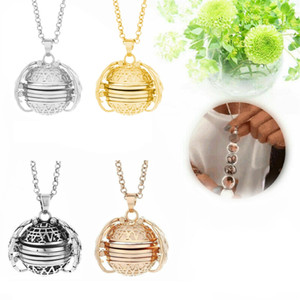 Magic Photo Pendant Memory Floating Locket Necklace Plated Angel Wings Flash Box Women Album Necklaces TTA995