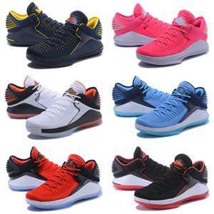 Melhores 32s XXXII Jumpman 32 Mens Atletismo Sapatos casuais Preto Moda instrutor Sports Sneakers corte alto