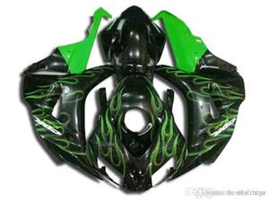 Nuevos carenados para Honda CBR1000RR 2006 2007 llamas verdes negras Kit de carenado del molde de inyección CBR 1000 RR 06 07 VC29