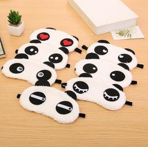 Carino morbidezza portatile del panda visiera sonno Spa occhio di sonno maschera per gli occhi Blinder Blindfold Viaggiare resto di sonno Accessori 777