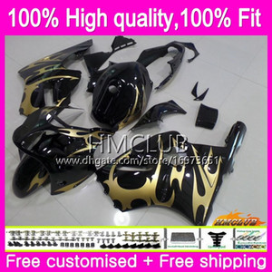 Injection For KAWASAKI ZX-12R ZX1200 CC ZX 12R 12 R 1200 71HM.28 1200CC ZX12R 02 03 04 05 06 2002 2003 2004 2005 2006 Golden New OEM Fairing