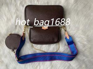 2020 NOVO Moda Mulheres Cruz cintura corpo Pouch Famoso Mensageiro Classical Bag Clutch + Coin sacos bolsa de ombro