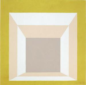 Josef Albers Untitled -5 Home Decor Artisanats / HD huile d'impression Peinture Sur Toile Art mur toile Photos 200208