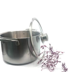 Mejor precio olla de sopa de titanio puro ollas de titanio de 2,3 mm de grosor olla del Reino Unido utensilios de cocina de diferentes tamaños productos de fábrica al por mayor