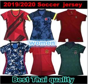 2020 Джерси Кубок Европы домой Женский футбол Япония Испания Португалия Италия Бельгия Германия Колумбия Мексика Женщина футбол футбол Джерси рубашка