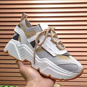 Bianco Nero Cristallo inferiore aumentando scarpe casual piattaforma Uomo Donna Vintage vecchio nonno Sport sneakers Z07