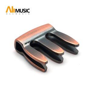 2pcs металла Скрипка Mute Viola сурдинка 3 зубца для практики скрипки в спальне ночью сократить более HArF объема
