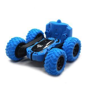 2.4Ghz 4WD Rock Crawler Radio Control Remoto Juguetes RC Stunt Double Side Car 3388 T200115