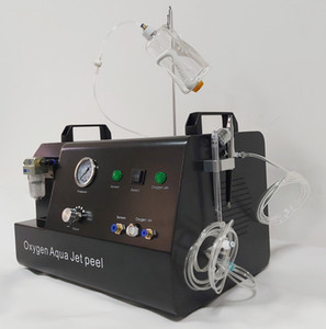 4 Bar Yüksek Basınçlı Oksijen Jet Peel Su Jet Peeling Oksijen cilt gençleştirme için Hydra Yüz Makinesi Sprey