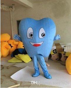 2018 Hot vente adulte Blue Tooth costume de mascotte Costume de déguisement Hot Sale Party Ship gratuit