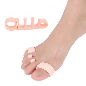 1 Pair Soft Silicone Gel Foot Care Tool Bunion Corrector Bone Big Toe Protector Hallux Valgus Straightener Toe Spreader Pedicure