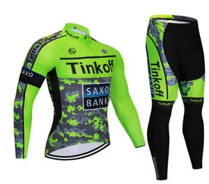 Tinkoff sonbahar bisiklet giysileri erkek gömleği uzun kollu pantolon ekipman elbise yol dağ bisikleti bisiklet giyim