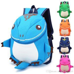 İyi dinozor çocuklar sırt çantası okul çantaları karikatür arlo anti kayıp anaokulu çocuk naylon sırt çantası hayvan dinozorlar sırt çantası yeni