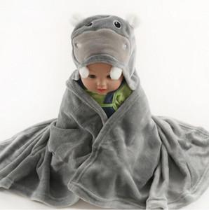 2020 халат милый мультфильм животных детское одеяло дети с капюшоном халат малыш ребенок банное полотенце новорожденный ребенок одеяло дети полотенце бесплатно корабль