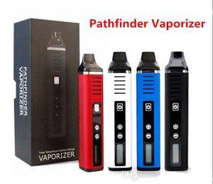 Original Pathfinder V2 Dry Herb Vaporizer Electronic Cigarette 2200mAh Battery Temp Control Heating Chamber Herbal Wax Vape Pen Kit