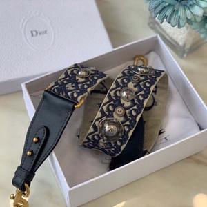 Spalla elegante Luxury Design Tracolla lusso Strap vari stili fibbia in metallo modo di ricamo di trasporto