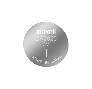 ماكسيل CR2025 3V المنغنيز بطارية الليثيوم زر ثاني أكسيد مفتاح السيارة الأصلي بطارية جهاز التحكم عن بعد 1 بطاقة 5