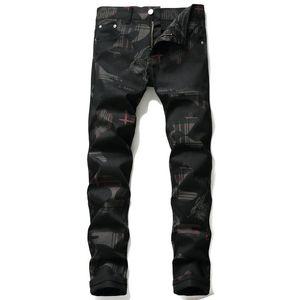 2020 European American Mens Designer Jeans Fashion Streetwear Men SUPERME pants mens skinny jeans mens ripped pantaloness