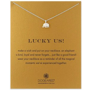 designer necklace Women Choker Dogeared Necklace Elephant Pendant Necklace Silver Gold Color Chain designer Couple jewelry