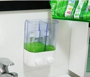 500ml 1000ml Şampuan Dispenserleri Basın Sıvı Sabunluk Plastik El Yıkama Sabunu Şişe Temizleyici Dağıtıcı Kutusu GGA3474-3 Duvara monte