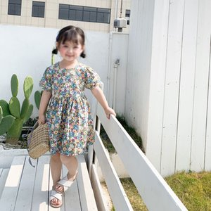 2020 New Hot Sale Children Girls Dress In Spring And Summer Floral Backless Long Dresses For Party And Wedding Baby Girl Clothes1910503244